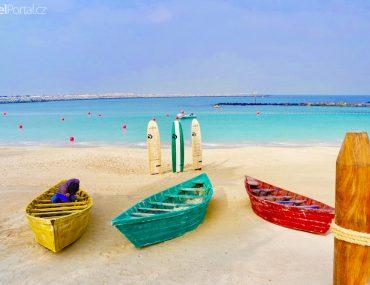 pláž La Mer v Dubaji