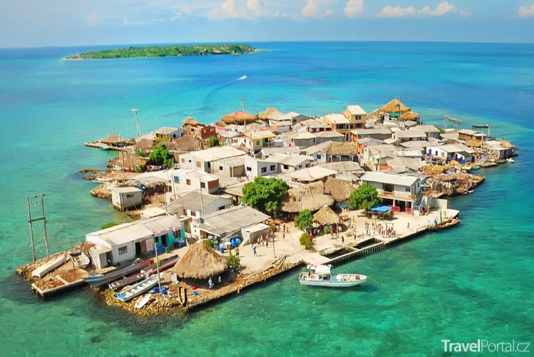 karibský ostrůvek Santa Cruz del Islote