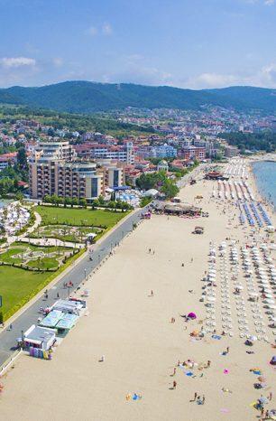 Slunečné pobřeží: Nejmodernější bulharské letovisko uspokojí i teenagery