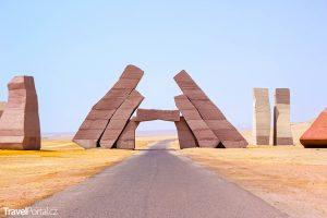 brána do národního parku Ras Mohamed