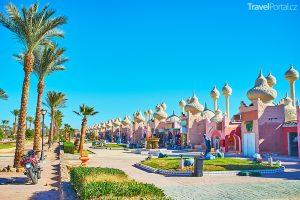 bazar Alf Leila wa Leila ve městě Sharm El Sheikh