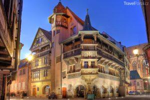 Maison Pfister ve městě Colmar