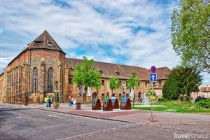 muzeum Unterlinden ve městě Colmar