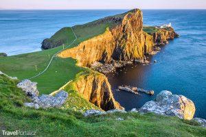 na ostrově Skye byly nalezeny dinosauří stopy