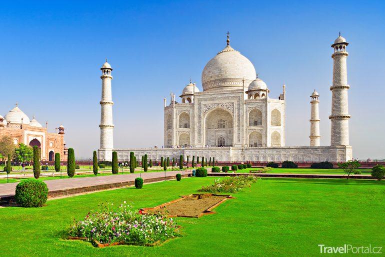 mauzoleum Tádž Mahal