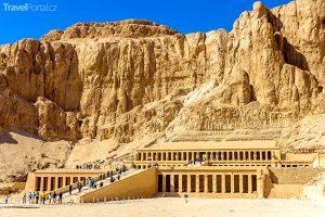 otravní prodejci suvenýrů už nebudou pobíhat kolem chrámu královny Hatšepsut