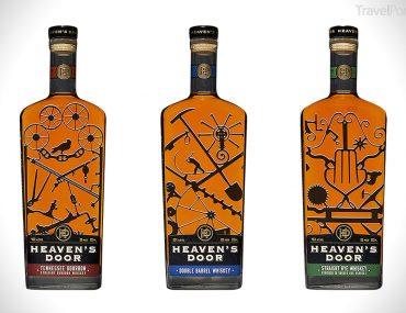 whiskey značky Heaven's Door