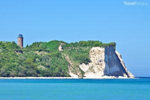 Kap Arkona na ostrově Rujána