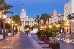 Plaza San Juan de Dios v Cádizu