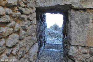 megalitické stěny v Cefalú