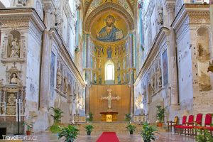 interiér katedrály v Cefalú