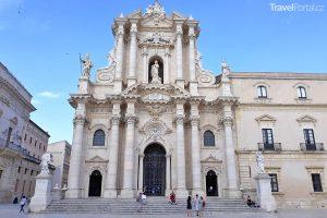 katedrála ve městě Syrakusy