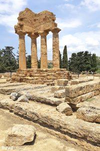 Valle dei Templi neboli Údolí chrámů
