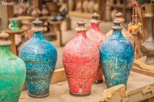 keramika ve městě Nizwa
