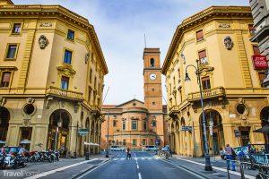 katedrála ve městě Livorno