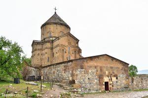 arménský kostel na ostrově Akdamar na jezeře Van
