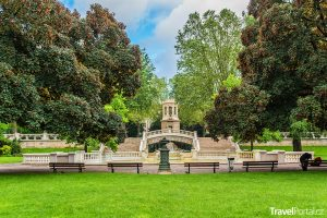 park Darcy ve městě Dijon
