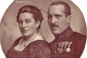 Károly Gundel s manželkou Margit Blasutighovou