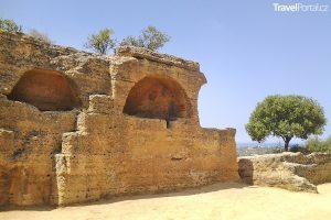 Valle dei Templi neboli Údolí chrámů na Sicílii