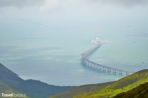 nejdelší most přes moře Hong Kong–Zhuhai–Macau Bridge