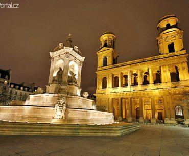 kostel Saint-Sulpice aneb Tajuplná místa Paříže