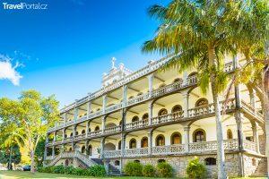 Dům kapucínů ve městě Victoria