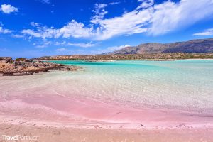 Elafonisi na Krétě