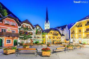 Hallstatt Rakousko