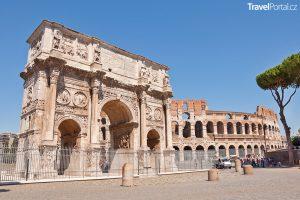 Koloseum a Konstantinův oblouk