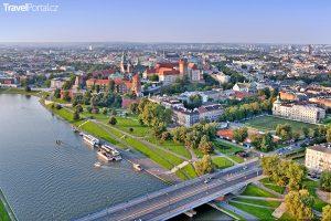 Krakov a řeka Visla