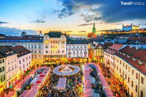 Vánoční trhy 2018 Bratislava