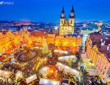 Vánoční trhy 2018 Praha Staroměstské náměstí