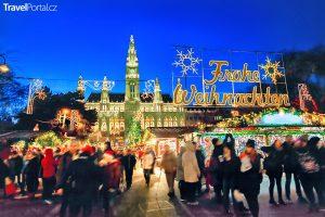 Vánoční trhy 2018 Vídeň