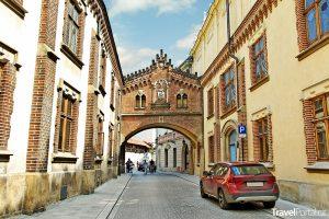 centrum města Krakov