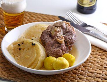 norské národní jídlo farikal