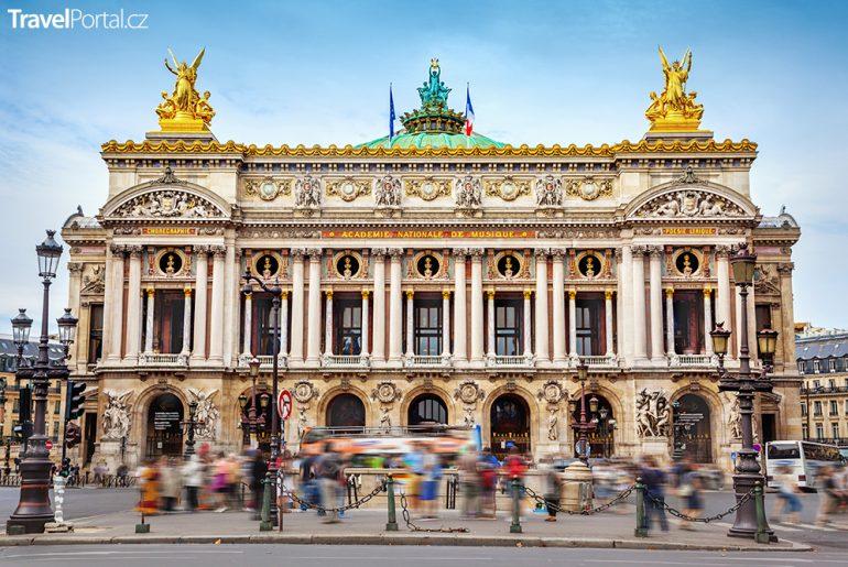 pařížská opera Garnier