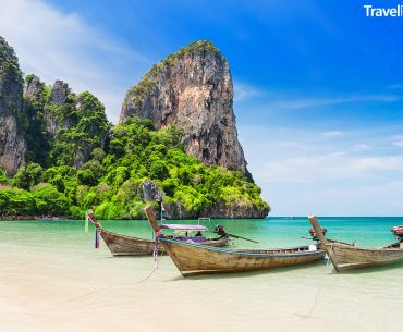 provincie Krabi a Railay Beach