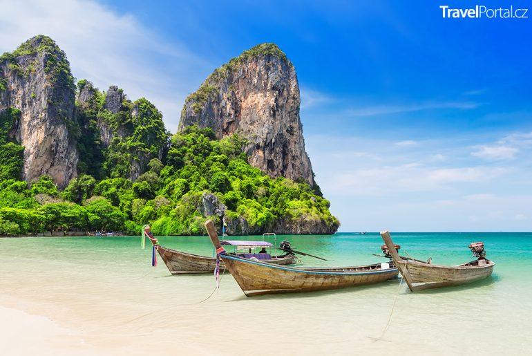 provincie Krabi a Railay Beach