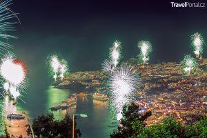 Silvestr ve Funchalu