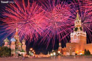 Silvestr 2018 v Moskvě