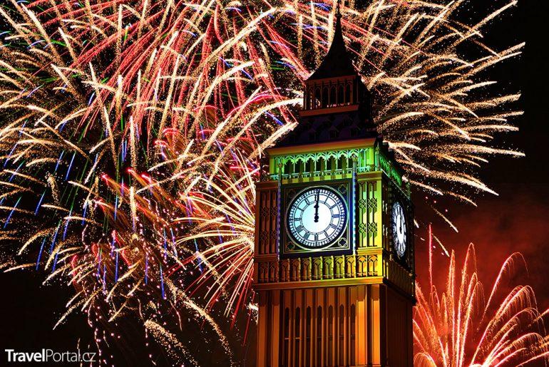londýnský Big Ben a silvestr 2018