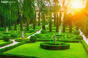 zahrada Giusti