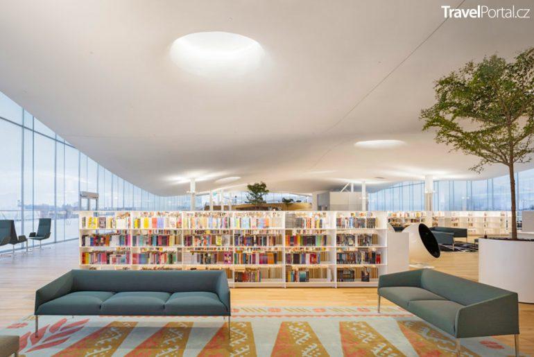 knihovna Oodi v Helsinkách