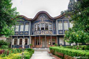 architektura bulharského města Plovdiv