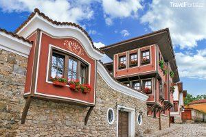 architektura města Plovdiv