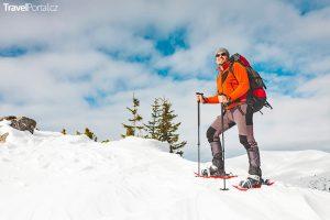chůze na sněžnicích je opět hitem