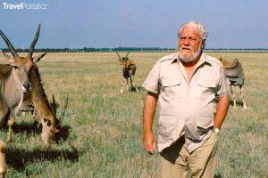 spisovatel a zoolog Gerald Durell