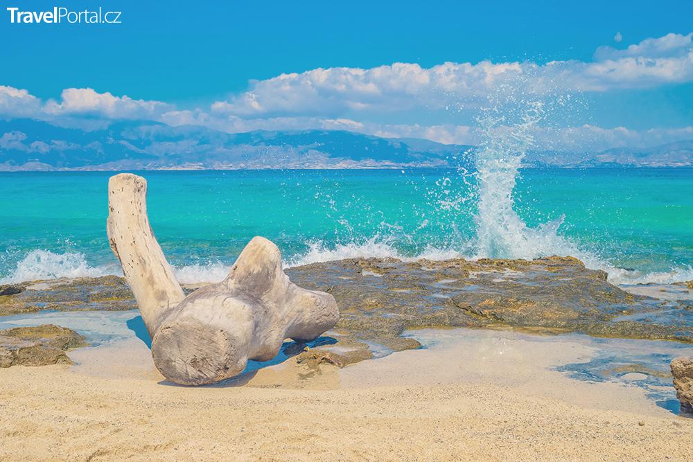 řecký ostrov Chrissi neboli Chrysi