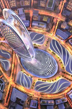 Burj Jumeira: V Dubaji vyroste 550metrová věž stojící na otisku prstu