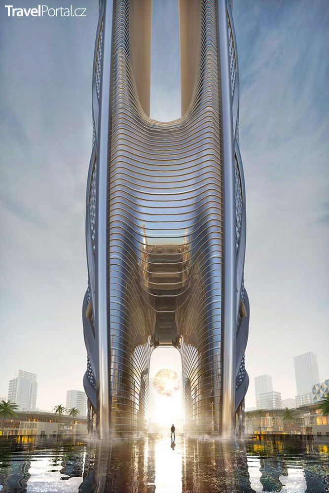 Burj Jumeira vizualizace